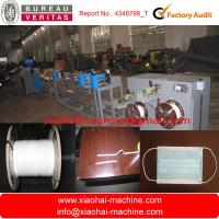 Buy cheap 380v Disposable Face Mask Nose Wire Making Machine , High Capacity 20kg/hour from wholesalers