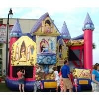 Buy cheap Princess Disney Themed Inflatable Bounce Houses Commercial Grade For Children from wholesalers