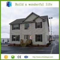 Buy cheap modern prefab duplex steel frame house portable pre fabricated villa from wholesalers
