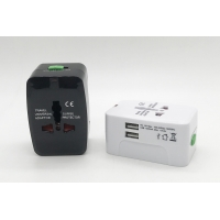Buy cheap Universal Travel USB Indicator Dual Port Fast USB Wall Charger from wholesalers