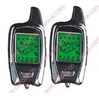 Wholesale FSK Two-Way LCD Pager Car Alarm System with Engine Starter from china suppliers