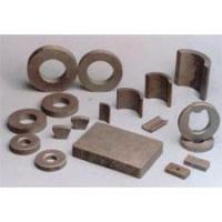 Buy cheap Ferrite Permanent Magnets (5) Permanent ferrite magnet industry standard of USA - WB-ferrite-USA-standard from wholesalers