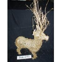 (CRAFTS) 【Products name】T23A-2193(RATTAN DEER)