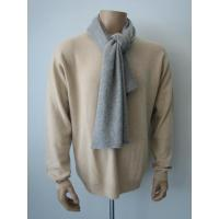 Buy cheap Cashmere Knitting Scarf Heather Grey Cashmere Scarf from wholesalers