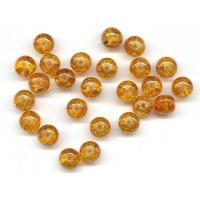 Buy cheap Deep Amber Crackle Beads from wholesalers