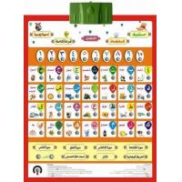 Buy cheap Arabic alphabet chart from wholesalers