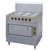 Buy cheap Gas Stove 6-Burners & Electric Oven from wholesalers