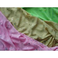 Buy cheap chiffon 3-tone emb plus hologram spangle from wholesalers