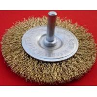 crimped wire brushes with shank