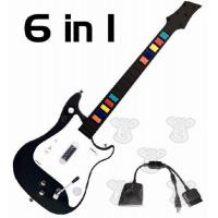 Buy cheap PS1/PS2 E3T-024 6 in 1 wireless guitar controller for PS2/PS3/Wii from wholesalers