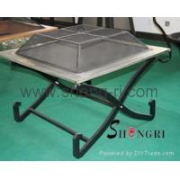 Buy cheap fire pits SRBQ-2075 from wholesalers