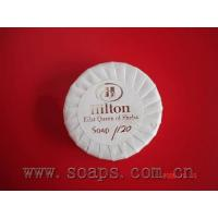 hotel soap with pleat wrap