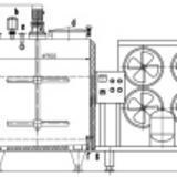 Vertical Milk Cooling Tank-Drawing Manufactures