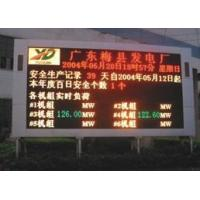 Buy cheap Outdoor dual colour display from wholesalers