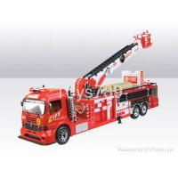 Buy cheap 14ch R/C FIRE-FIGHTING AERIAL LADDER SPRAY WATER CAR from wholesalers