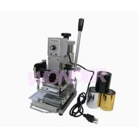 Wholesale Fabrication equipment WTJ-90A Hot stamping machine from china suppliers