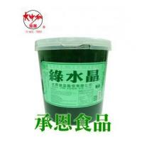 Wholesale 1065 Green Tea Flavor Crystal Jelly 3.3kg from china suppliers