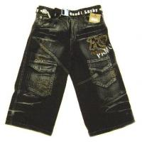 Buy cheap 2011 New Arrival Vogue Bleach Washed Kids Jeans Kids Pants Child Wear from wholesalers