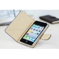 Buy cheap Flap Leather Case for iPod Touch 4 PL011 from wholesalers