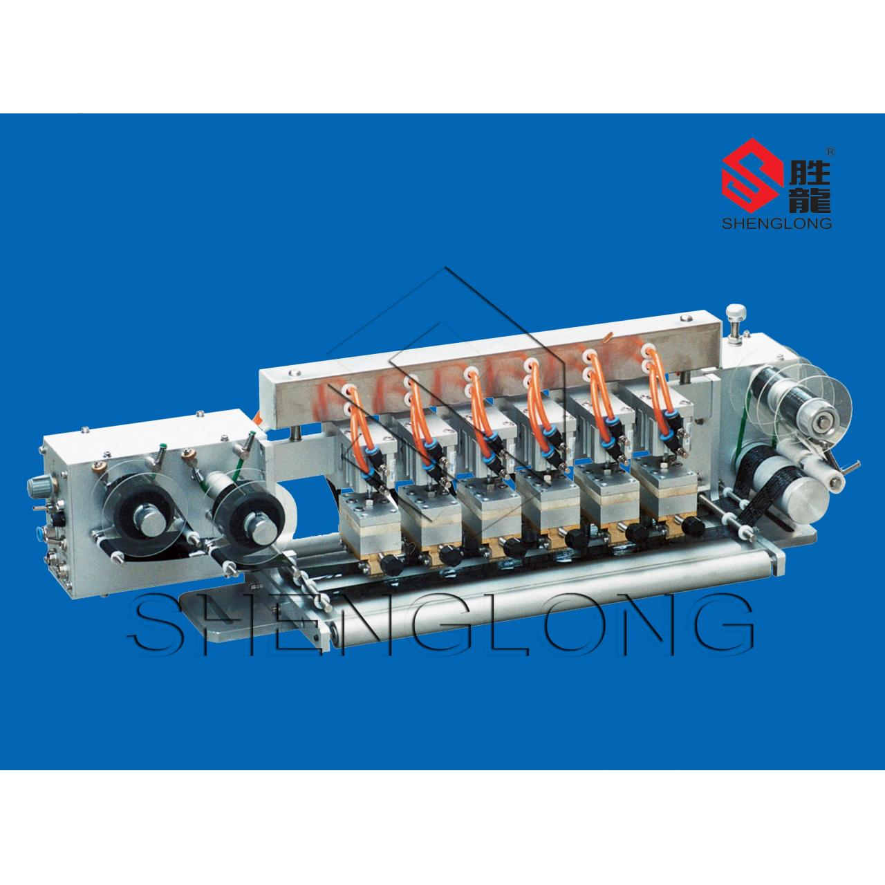 Buy cheap HP-602 Multihead pneumatic driven hot foil coder from wholesalers