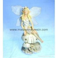 Buy cheap polyresin/polystone fairy figurine, fairy sculpture from wholesalers