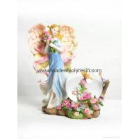 Buy cheap polyresin/polystone flower fairy waterball from wholesalers