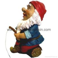 Buy cheap Polyresin Garden Gnome Gnome Statue Gnome figure from wholesalers
