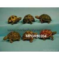 Buy cheap polyresin garden decoration turtle statue from wholesalers