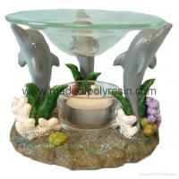 Buy cheap sealife oil burner, poly-resin candle holder from wholesalers