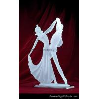 Buy cheap Frosted Dancer Crafts clear polyresin dancer from wholesalers