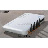 Buy cheap 4 x SIM cellular GSM SIP VOIP Gateway GOIP IP PHONE Quad Band: ip PBX from wholesalers