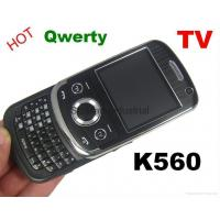 Buy cheap K560 JAVA TV Sliding QWERTY Mobile Phone Two Cards from wholesalers