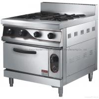Buy cheap 4 hands Gas Stove & Griddle& oven from wholesalers