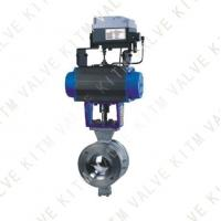 Buy cheap ZSHV pneumatic V type ball valves from wholesalers