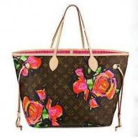 Buy cheap High Quality Louis Vuitton LV M48613 Monogram Rose Canvas NEVERFULL MM Handbag from wholesalers