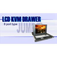 Wholesale LCD KVM CONSOLE JB-LKM1U446-8P from china suppliers