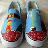 Hand-Painted Shoes (WD-219) Manufactures