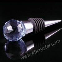 Buy cheap crystal wine stopper from wholesalers