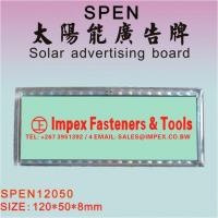 Buy cheap Solar advertising board from wholesalers