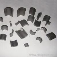 Buy cheap Ferrite Magnets sintered arc segment anisotropic ceramic magnets from wholesalers