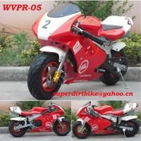 Buy cheap 49CC Pocket Bike (CE) 49CC Air Cooled Common Pocket Bike (WVPR-05) from wholesalers