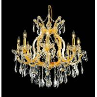 Wholesale 8+1 Lights maria theresa crystal chandelier gold finish from china suppliers