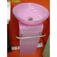 Buy cheap Glass Basins sanitary ware products series-Glass Basins-tl-3098 glass wash basin from wholesalers