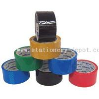 China Adhesive Tape COLOUR BOPP PACKING TAPE on sale