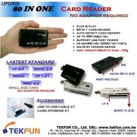 Buy cheap SPC-07A: 80 in 1 Card Reader, Smallest Size, USB Mobile Express, Supports for latest memory cards: CF 4.0, MMC 4.2, SDHC 2.0, xD 1.21 and MSHG. No Adapter Required from wholesalers