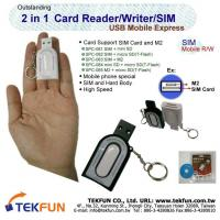 Buy cheap SPC-08 Series, 2 in 1 SIM Card Reader, USB Mobile Express, w/ key ring from wholesalers
