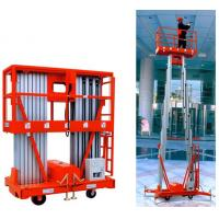 Buy cheap Your present location:HOME  >>Machinery >>Aerial work platform >>Mobile Aluminium Work Platform(Dual Mast) from wholesalers