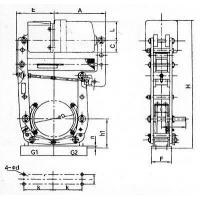 Buy cheap YWL series of electro-hydraulic block brake from wholesalers