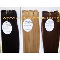 Wholesale Hair Extension Hand tied Weft hair Products from china suppliers