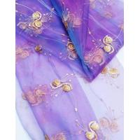 Buy cheap spangle embroidery curtain fabrics FDBL-6016 from wholesalers